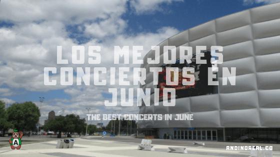 Movistar Arena Bogotá: the best concerts in June