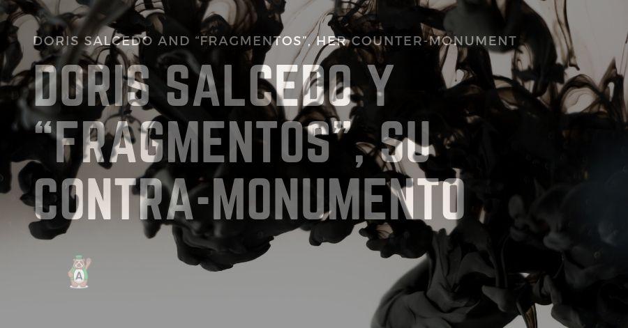 "Cultural Agenda Bogotá: Doris Salcedo and ""Fragmentos"", her counter-monument"