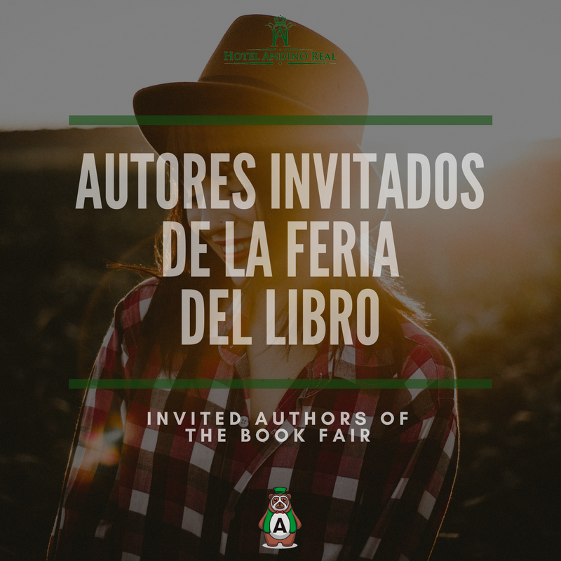Guest invited authors of the Book Fair 2018 Bogotá, Colombia