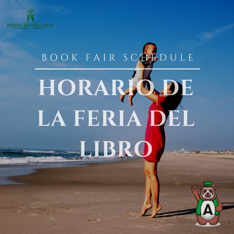 Book Fair Schedule (FILBo) 2018 Bogota, Colombia